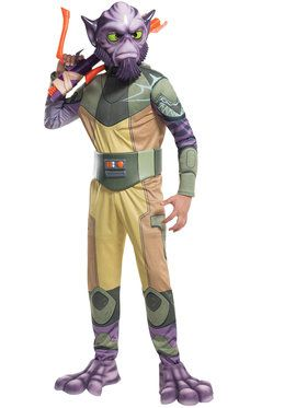 Star Wars Rebels Deluxe Zeb Boy's Costume