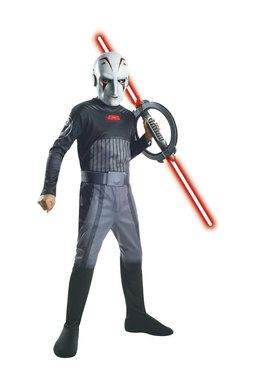 Star Wars Rebels Inquisitor Boy's Costume