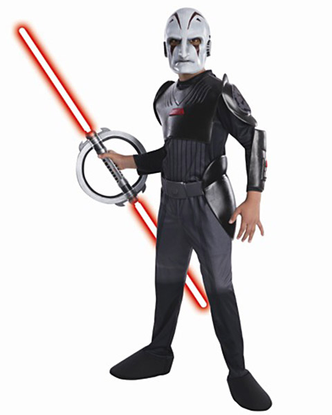 Star Wars Rebels Inquisitor Deluxe Costume For Boys R884897-S