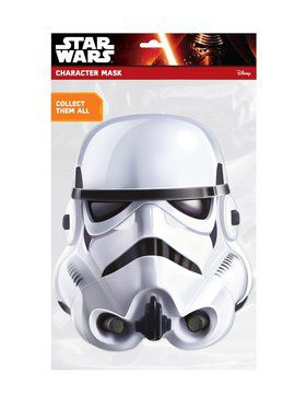 Retro Stormtrooper Star Wars Face Mask