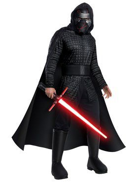 Star Wars Rise of the Skywalker Kylo Ren Deluxe Costume for Adults