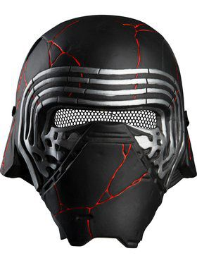 Star Wars: Rise of Skywalker Kylo Ren Adult 1/2 Mask