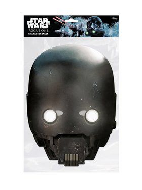 Rogue One K-2SO Star Wars Face Mask