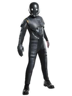 Mens Star Wars Rogue 1 K 2SO Deluxe Costume