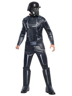 Star Wars Rogue 1 Mens Death Trooper Deluxe
