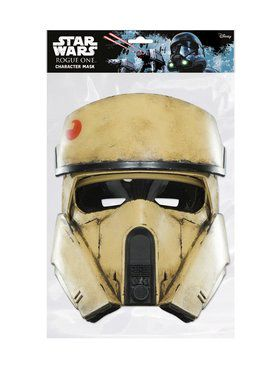 Rogue One Shoretrooper Star Wars Face Mask