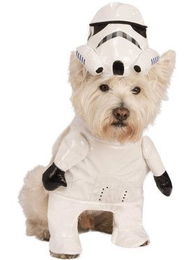 Star Wars Storm Trooper Costume for Pets