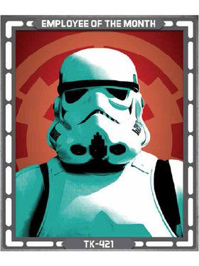 Star Wars Storm Trooper Sign Decoration