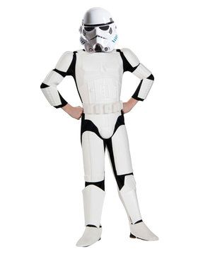 Star Wars Stormtrooper Deluxe Boys Costume