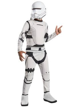 Star Wars: The Force Awakens - Classic Flametrooper Costume For Children