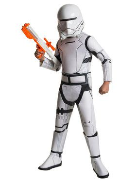 Star Wars: The Force Awakens - Flametrooper Super Deluxe Costume For Children
