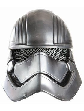 Star Wars: The Force Awakens - Captain Phasma Half Helmet For Adults