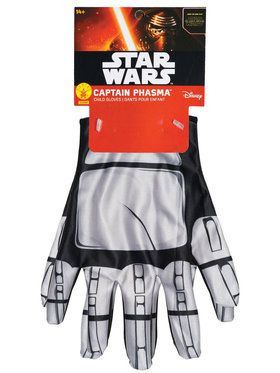 Star Wars: The Force Awakens - Captain Phasma Gloves For Children