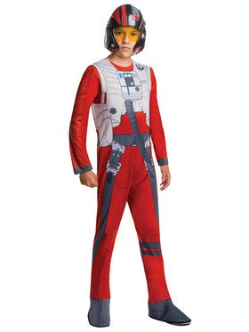 Star Wars The Force Awakens Child Poe Dameron Costume