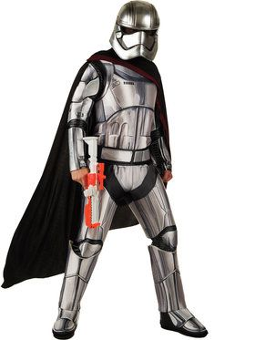 Star Wars The Force Awakens Deluxe Captain Phasma Costume