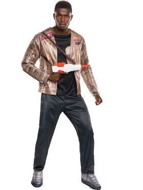 Star Wars The Force Awakens Deluxe Finn Mens Costume