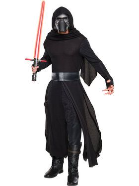 Star Wars The Force Awakens Deluxe Kylo Ren Costume Men's Costume