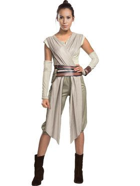 Star Wars The Force Awakens Deluxe Rey Costume Womens Costume