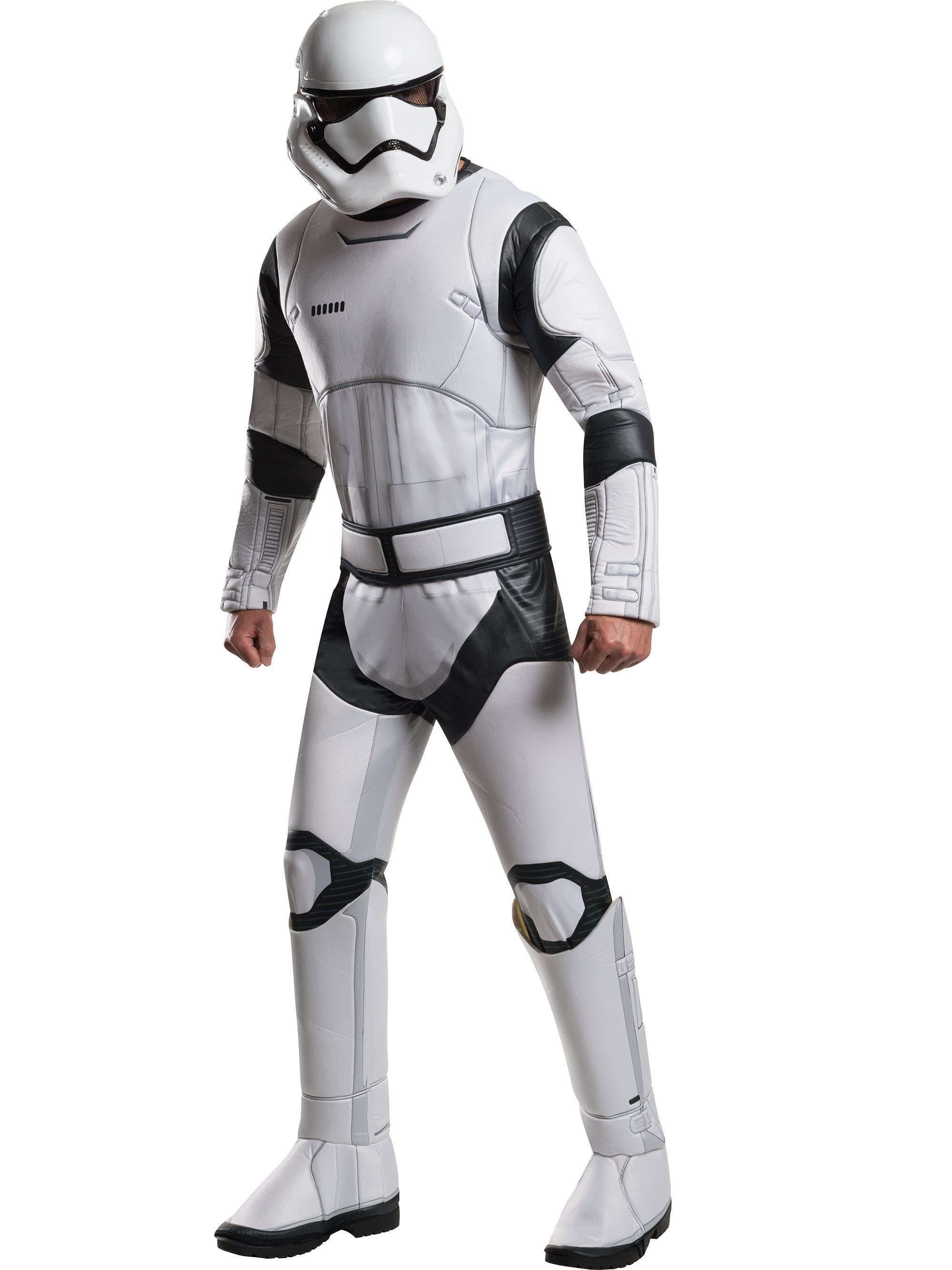 FREE SHIPPING! Star Wars The Force Awakens Deluxe Flametrooper Adult Costume
