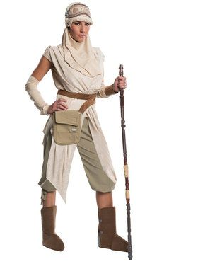 Star War's The Force Awakens Grand Heritage Rey Womens Costume