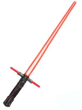 Star Wars The Force Awakens Kylo Ren 3 Blade Light Up Lightsaber