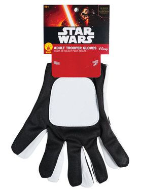 Star Wars: The Force Awakens - Flametrooper Gloves For Men