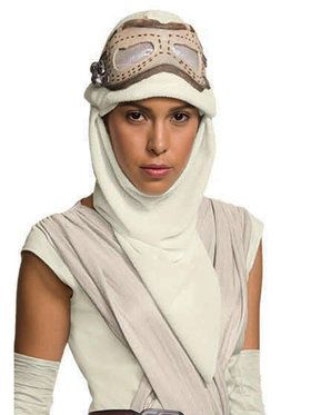 Star Wars: The Force Awakens - Rey Eye Mask with Hood For Adults