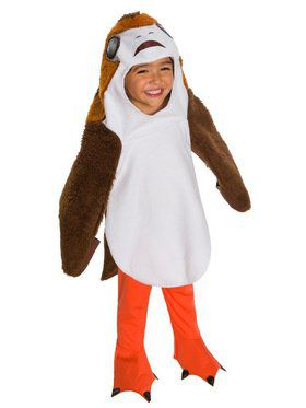Star Wars The Last Jedi Deluxe Toddler Porg Costume TODD Child Costume