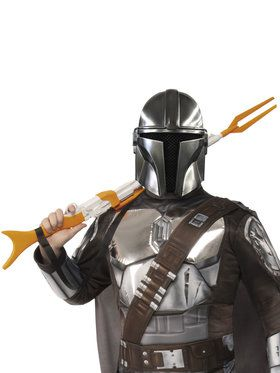 Star Wars The Mandalorian 1/2 Beskar Armor Mask for Adults