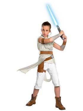 Children's Deluxe Star Wars Rise of Skywalker Rey Costume