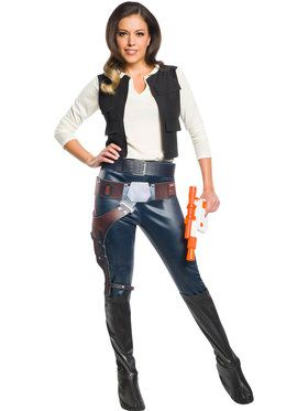 Star Wars: Classic Han Solo Costume for Women