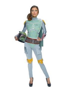 Adult Female Boba Fett Costume