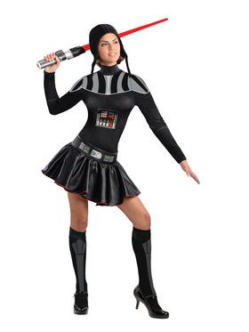 Star Wars Womens Female Darth Vader Costume