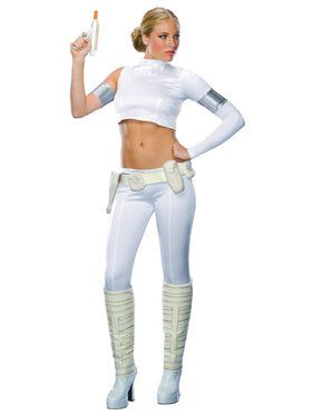 Womens Two-Piece Star Wars Padme Amidala Costume