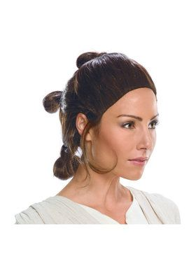 Star Wars Womens Rey Wig- Adult