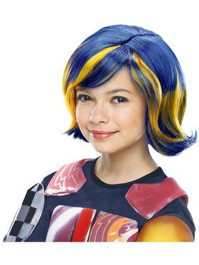 Girls Synthetic Sabine Wig
