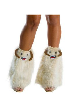 Star Wars Wampa Faux-Fur Womens Leg Warmers