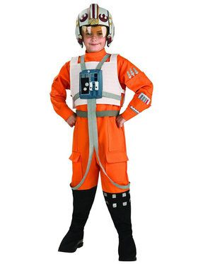 Star Wars X-Wing Fighter Pilot Costume For Children