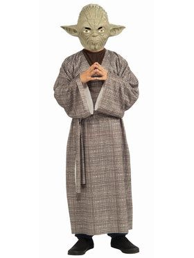 Child Deluxe Yoda Star Wars Costume