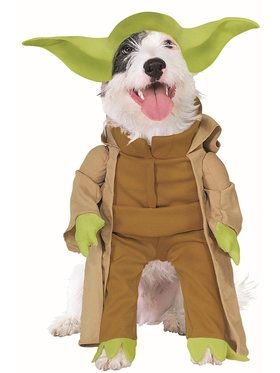 Star Wars Yoda Dog Costume  sc 1 st  Wholesale Halloween Costumes & Yoda Star Wars Face Mask - Costume Accessories for 2018 | Wholesale ...