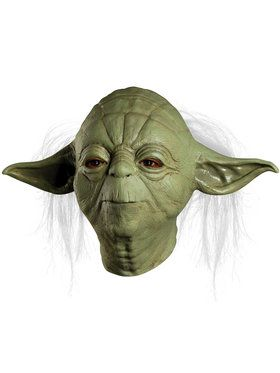 Star Wars Yoda Overhead Latex Mask For Adults