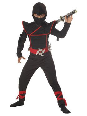 Stealth Ninja Costume For Children