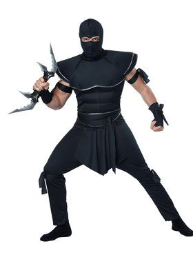 Stealth Ninja Men's Costume