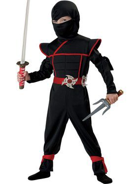 Stealth Ninja Toddler's Costume