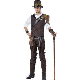 Steampunk Adventurer Costume Men's Costume