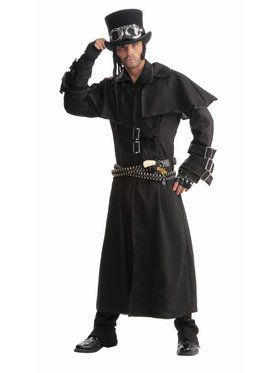 Adult Steampunk Duster Coat