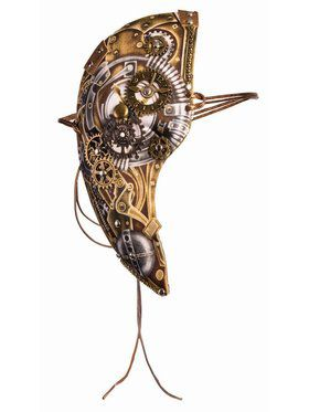 Steampunk Adult Phantom Mask