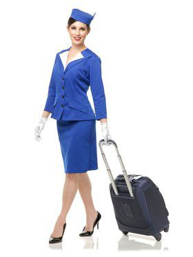 Women's Pan Am Stewardess Costume