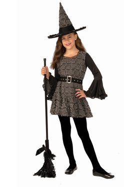 Girls Witchie Stitch Costume