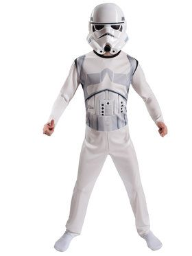 Storm Trooper Boy's Costume